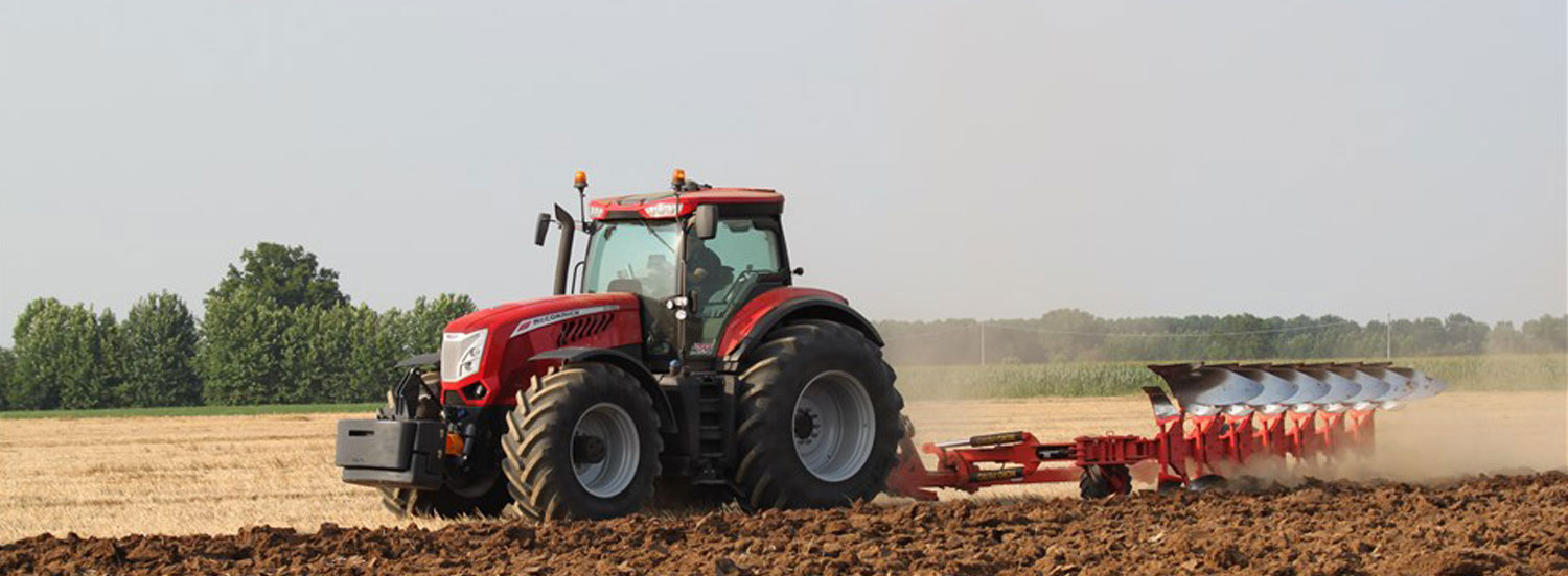 McCormick tractor and tillage equipment